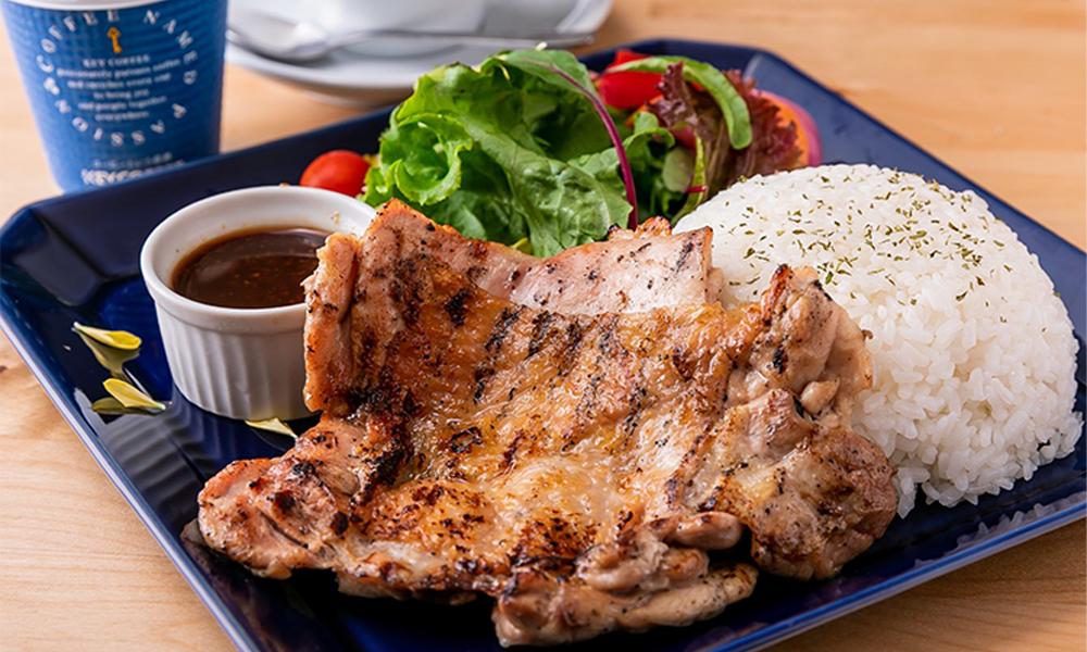 熔岩烤架上的肉開胃菜